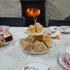 Barn tea party 1