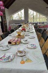 Barn tea party